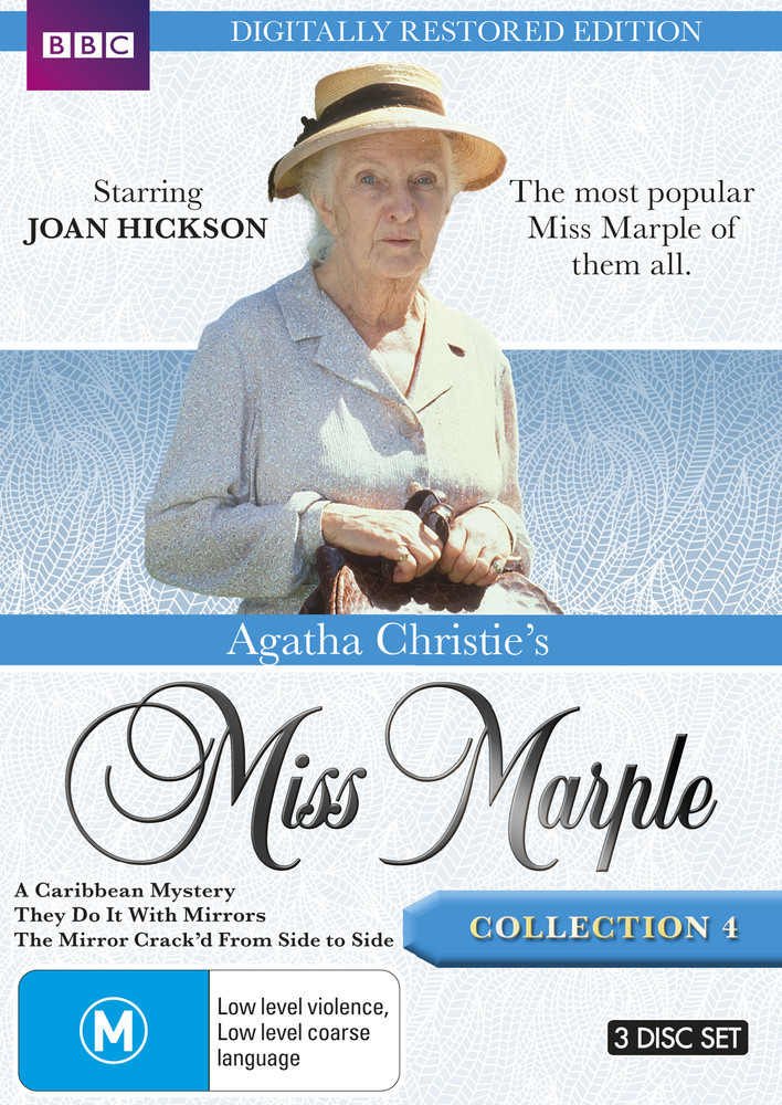 Agatha Christie's Miss Marple - Collection 4 (Restored Edition) on DVD image