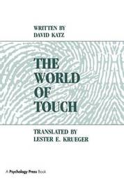 The World of Touch by David Katz image