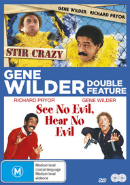 Gene Wilder Double Feature Pack on DVD