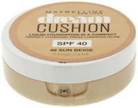 Maybelline Dream Cushion Luminous Liquid Foundation - Sun Beige