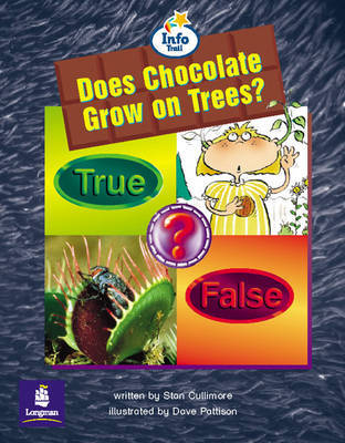 Does Chocolate Grow on Trees? Info Trail Emergent stage Non-ficition Book 24 by Stan Cullimore image