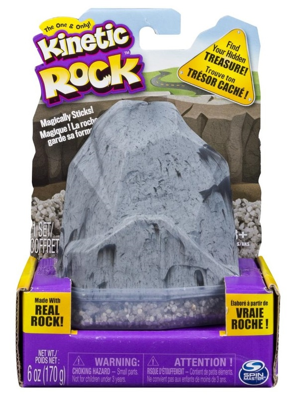 Kinetic Sand: Kinetic Rock Pack – Grey