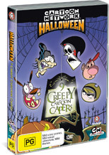 Cartoon Network Halloween - 9 Creepy Cartoon Capers on DVD