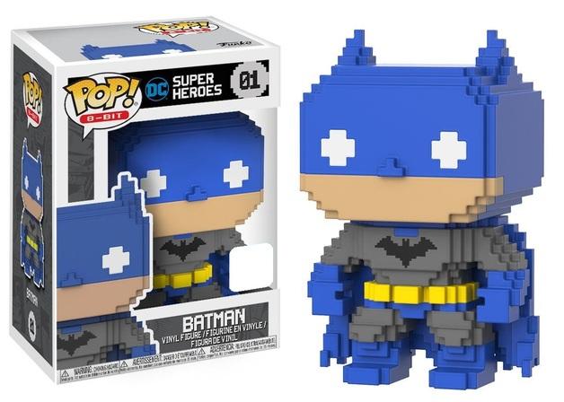 DC Comics - Batman (8-Bit) Pop! Vinyl Figure (LIMIT - ONE PER CUSTOMER)