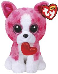 Ty Beanie Boo: Romeo Dog - Medium Plush