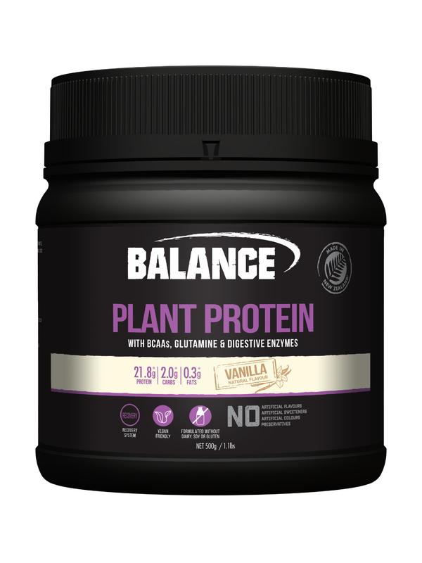 Balance Plant Protein - Vanilla (500g)