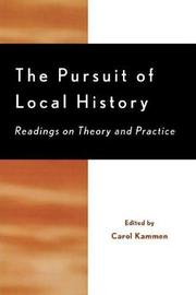 The Pursuit of Local History