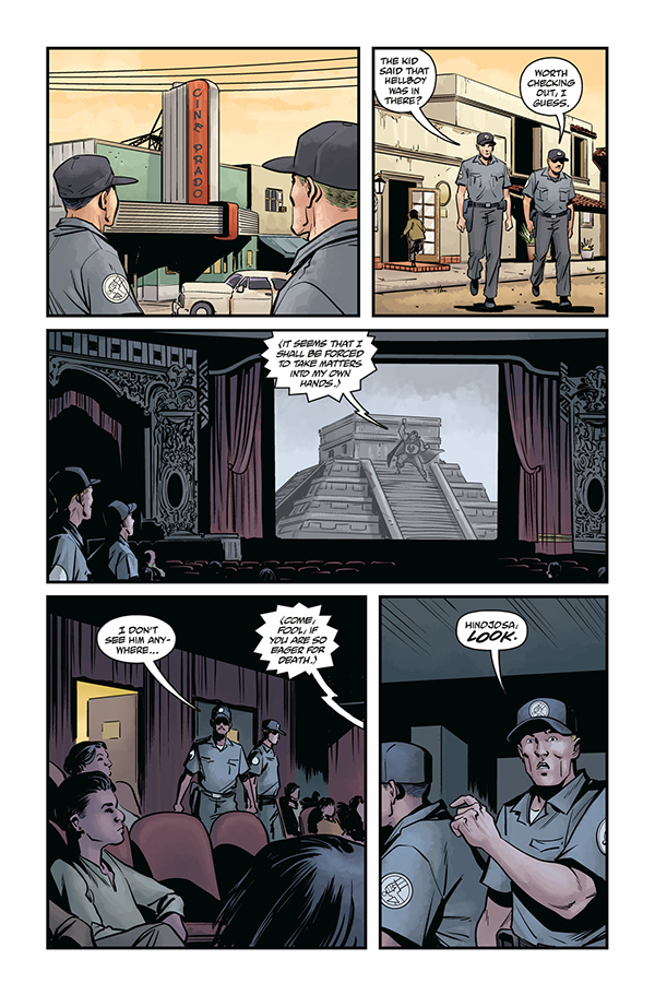 Hellboy & the BPRD: 1956 - #5 image