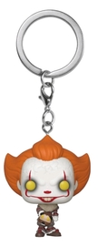 It: Chapter 2 - Pennywise with Beaver Hat - Pocket Pop! Keychain