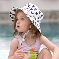 Bumkins: Sun Hat - Hearts/Small