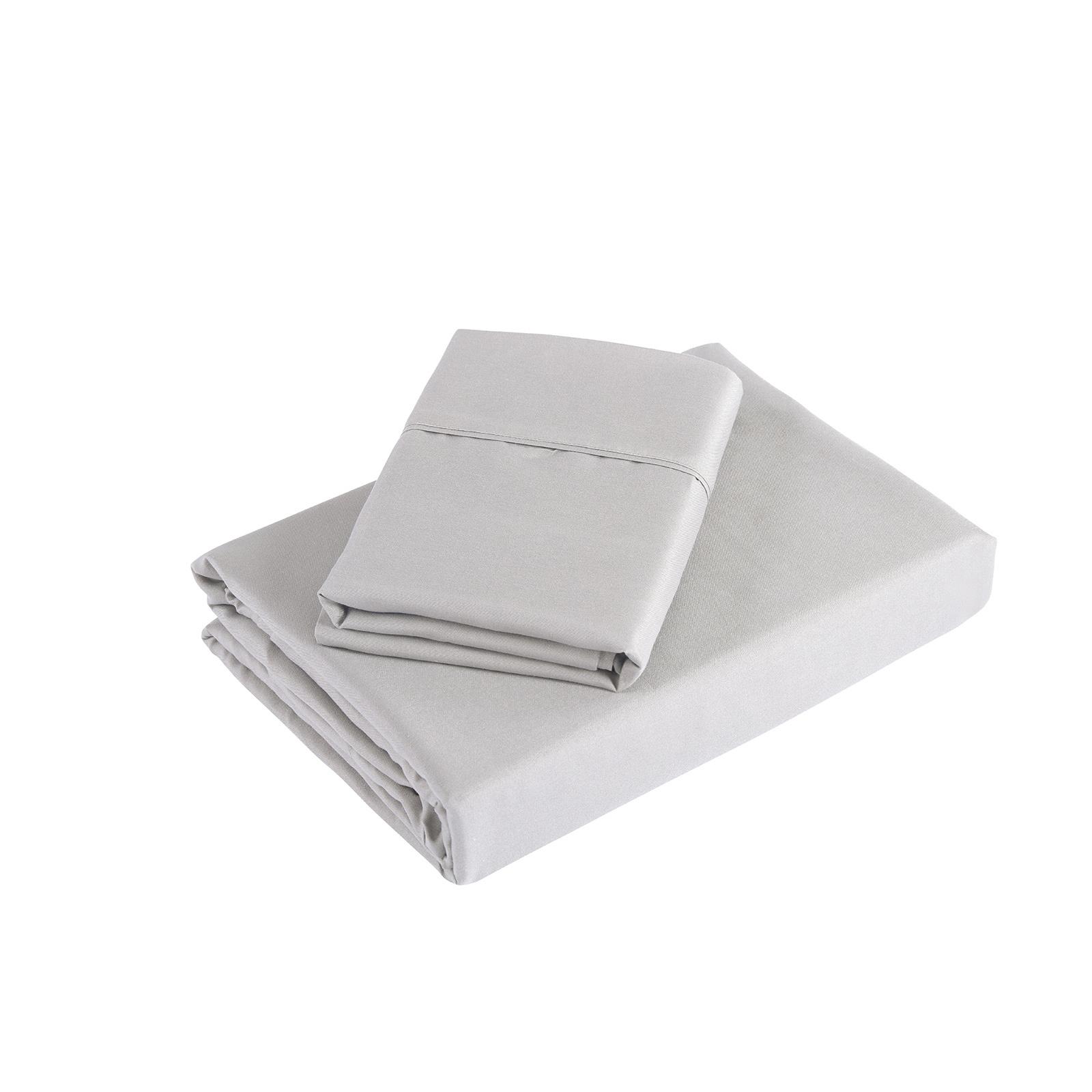 Royal Comfort 1200 Thread Count Ultrasoft 4 Piece Sheet Set - King - Silver image