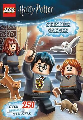 LEGO Harry Potter Sticker Scenes Book by LEGO
