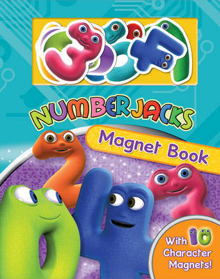 """Numberjacks"" Magnet Book"