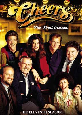 Cheers - Complete Season 11 Final (4 Disc Set) on DVD