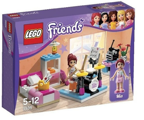 Lego Friends Mias Bedroom 3939 Toy At Mighty Ape Nz