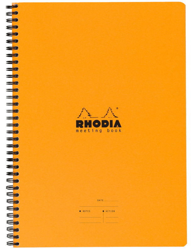 Rhodia Classic Meeting Book A4+ - Orange
