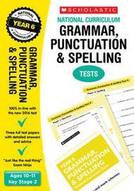 Grammar, Punctuation and Spelling Test - Year 6 by Lesley Fletcher image