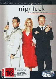 Nip/Tuck - The Complete 2nd Season (5 Disc Box Set) on DVD image