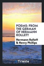 Poems by Hermann Rollett image