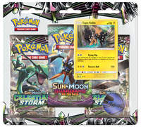 Pokemon TCG: Celestial Storm Three Pack Booster: Tapu Koko