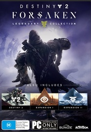 Destiny 2 Forsaken Legendary Collection (code in box) for PC Games