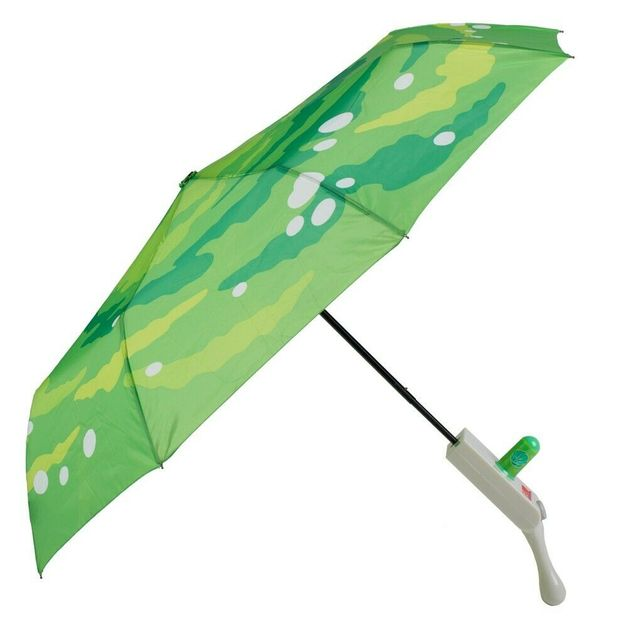 Rick & Morty: Portal Gun - Compact Umbrella