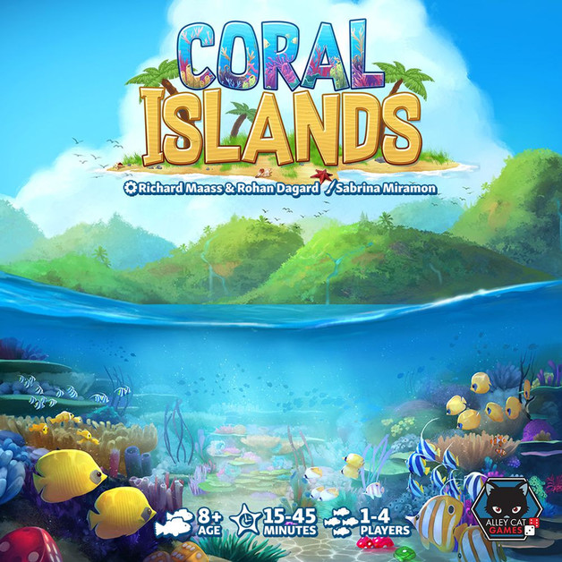 Coral Islands - 2-in-1 Dice Game Set