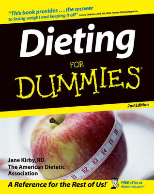 Dieting For Dummies by Jane Kirby image