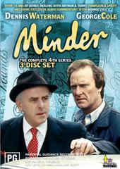 Minder - The Complete 4th Series (3 Disc Box Set) on DVD