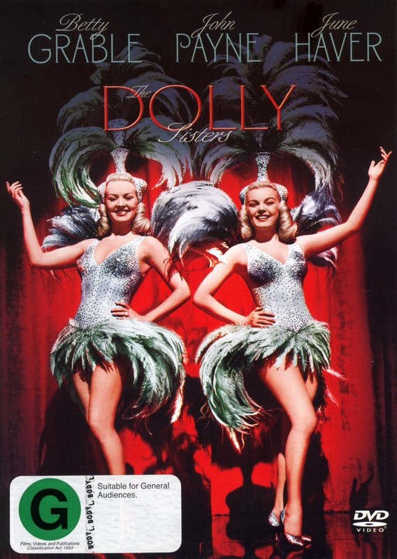 Dolly Sisters on DVD