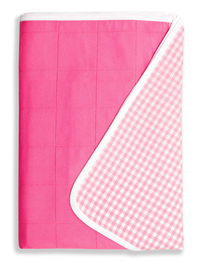 Brolly Sheets Single Size Sheet Bed Pad - Pink