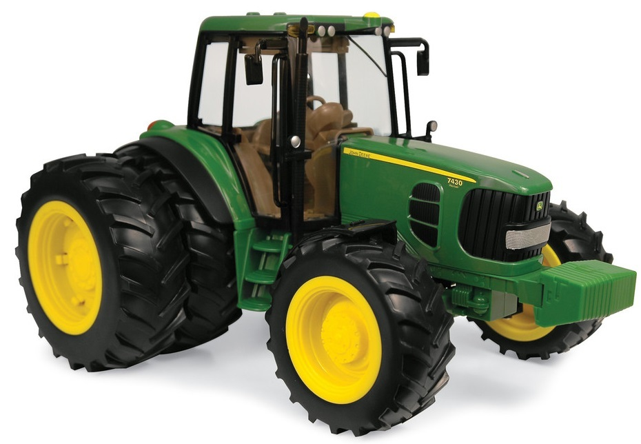 Dual Wheels For Tractors : John deere jd tractor with rear dual wheels
