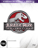 Jurassic Park Box Set (1-3 + World) on Blu-ray