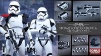 "Star Wars: The Force Awakens - 12"" First Order Officer & Stormtrooper Figure Set image"