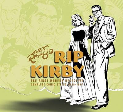Rip Kirby, Vol. 2 1948-1951 by Alex Raymond image