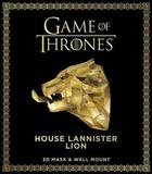 Game of Thrones Mask: House Lannister Lion (3D Mask & Wall Mount) by Wintercroft