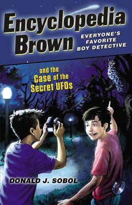 Encyclopedia Brown and the Case of the Secret UFOs by Donald J Sobol image