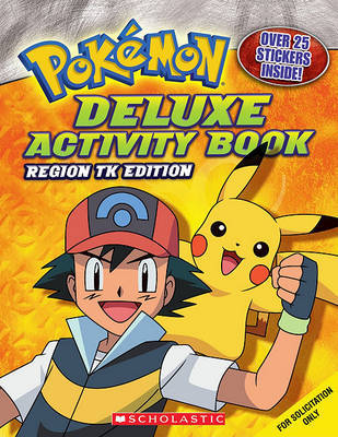 Deluxe Activity Book: Johto Edition by Katherine Fang