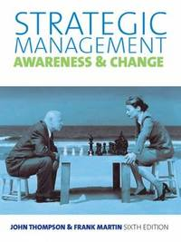 Strategic Management by Martin Thompson image