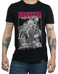 Rick and Morty: Guns T-Shirt (XX-Large)
