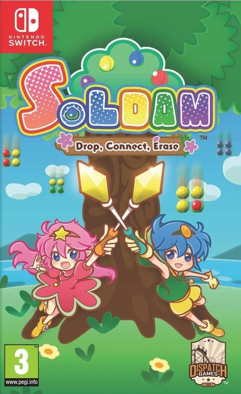 Soldam: Drop, Connect, Erase for Switch