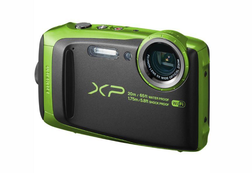 FujiFilm FinePix XP120 Digital Camera - Lime Green image