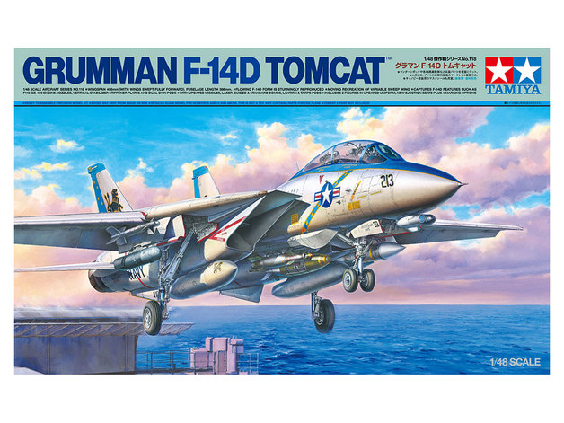 Tamiya1/48 Grumman F-14D Tomcat - Model Kit