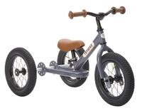 Trybike: 2-In-1 Steel Balance Bike - (Grey/Brown) image