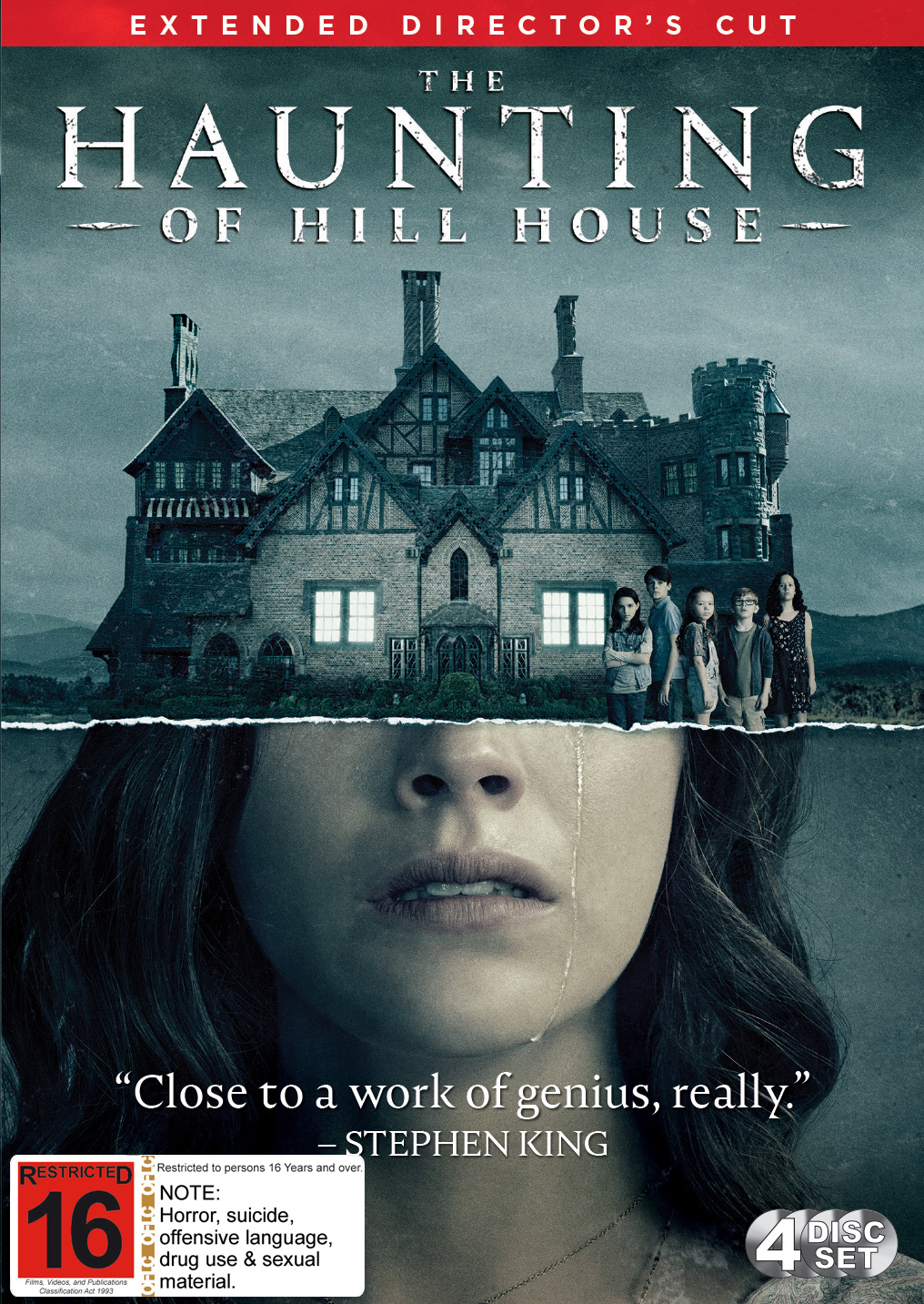 The Haunting Of Hill House - The Complete First Season on DVD image