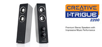 CREATIVE LABS Creative I-trigue 2200 Speakers (Black) image