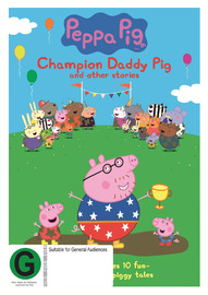 Peppa Pig: Champion Daddy Pig on DVD