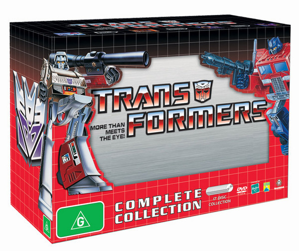 Transformers (1984) - Complete Collection (17 Disc Box Set) on DVD