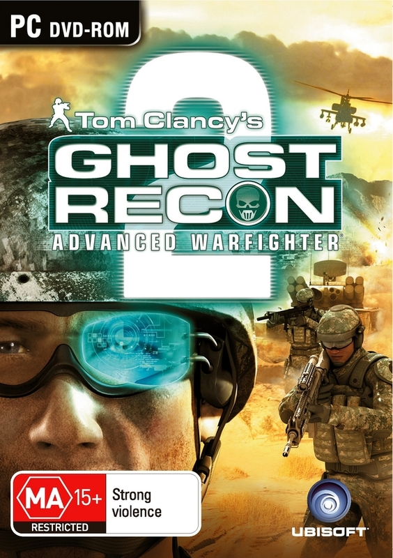 Tom Clancy's Ghost Recon: Advanced Warfighter 2 (jewel case) for PC Games