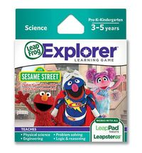LeapFrog Explorer Game Cartridge - Sesame Street: Solve it with Elmo